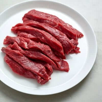 Buy Rump Steak Strips Online From The Meat Supermarket