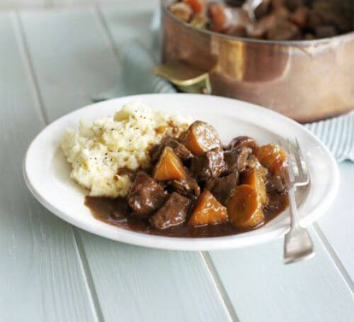 Beef & Guinness Stew With Carrots