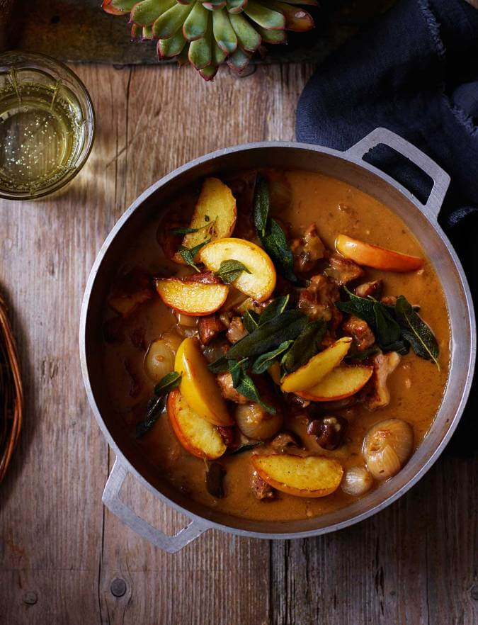 Somerset Pork With Apples And Cider